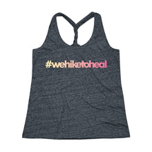 Load image into Gallery viewer, #wehiketoheal Women's Racerback Tank