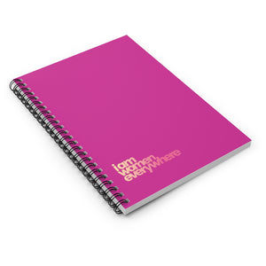 """i am women everywhere"" Spiral Notebook"