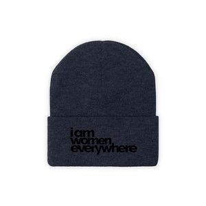 """I am women everywhere"" Knit Beanie"