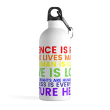 "將圖片載入圖庫檢視器 ""Make a Statement"" Stainless Steel Water Bottle"