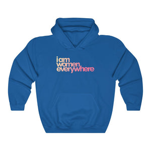 """I am women everywhere"" Unisex Heavy Blend™ Hoody (up to 5XL)"
