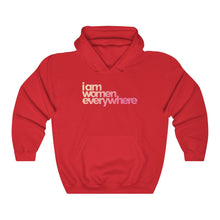 "Load image into Gallery viewer, ""I am women everywhere"" Unisex Heavy Blend™ Hoody (up to 5XL)"
