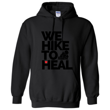 Charger l'image dans la galerie, Black-on-Black #wehiketoheal Hoodie (Special Edition)