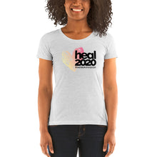 "Load image into Gallery viewer, ""Heal"" #wehiketoheal Women's short sleeve t-shirt"