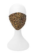 Adult Premium Mask in Leopard with Pink