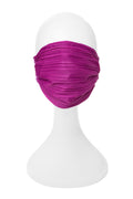 Adult Premium Mask in Pleated Fuchsia