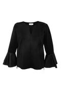 Sophia Duo Top in Black