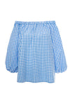 Marilyn in Blue Gingham