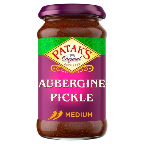 Patak Aubergine Pickle - Medium (300g) - Dookan