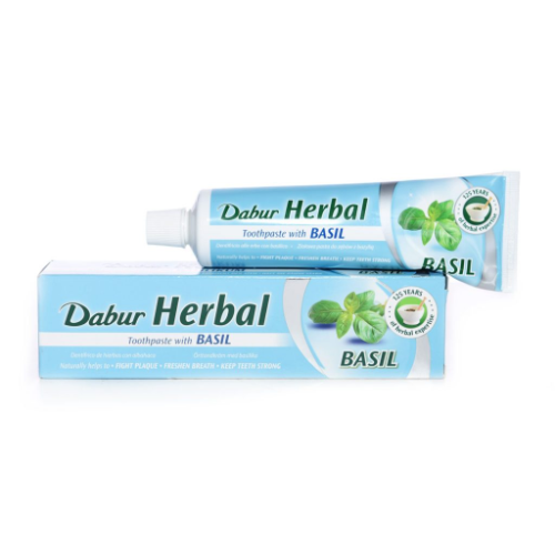 Dabur Herbal Toothpaste - Basil (100g) - Dookan