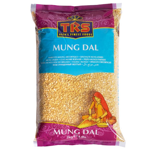TRS Moong Dal Split (Mung Dal) - Without Skin (500g) - Dookan
