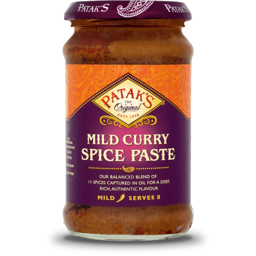 Pataks Curry Paste Mild (283g) - Dookan