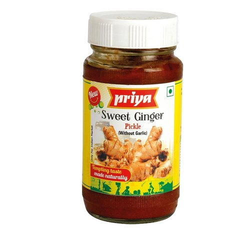 Priya Sweet Ginger Pickle without Garlic (300g)
