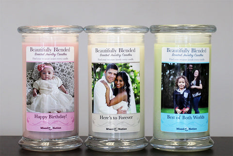 Custom Photo Jewelry Candles