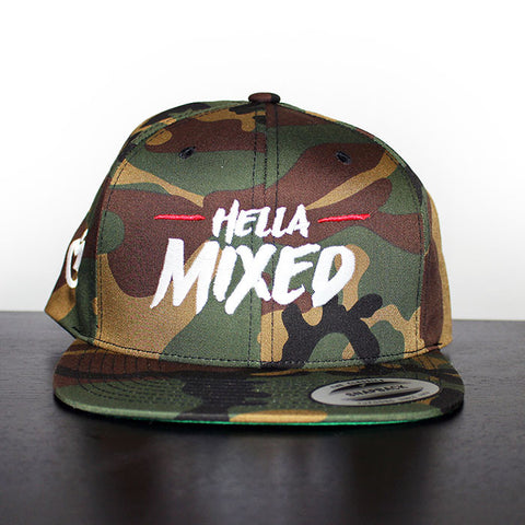 Hella Mixed Snapback