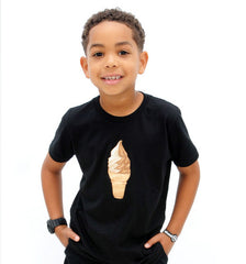 Swirl Cone Toddler and Youth T-shirt