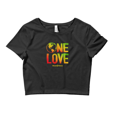 One Love crop top