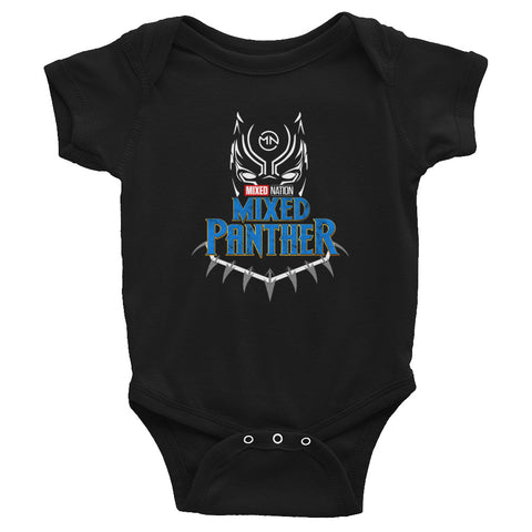 Mixed Panther Infant Bodysuit