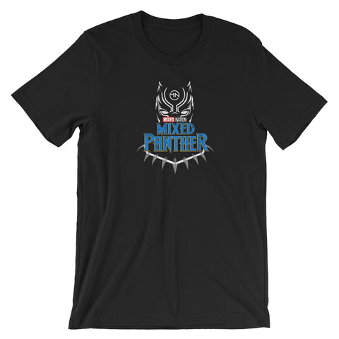 Mixed Panther Short-Sleeve Unisex T-Shirt