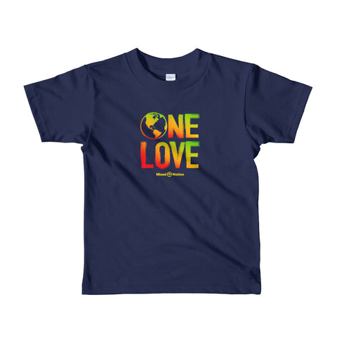 One Love Short sleeve kids t-shirt