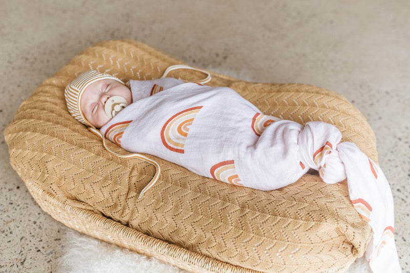 Rainbow Bamboo Swaddle | Two Darlings
