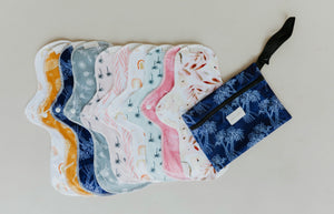 Organic Cotton Cloth Pads | Bare and Boho preorder