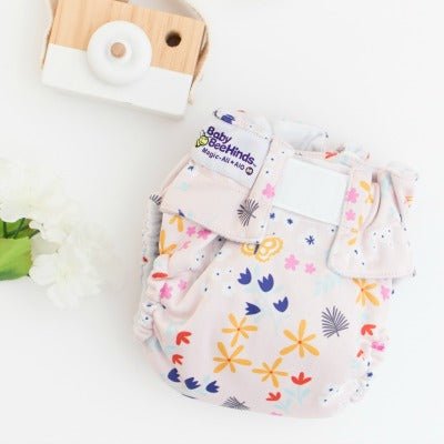 Baby Beehinds AIO All-In-One (Sized, AIO, Velcro Closure, Optional Pocket)
