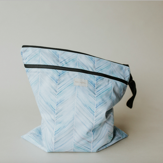 Bare & Boho Large Double Pocket Wetbag | Library Bag | Beach Bag