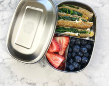 Load image into Gallery viewer, everECO bento snack box 3 compartment
