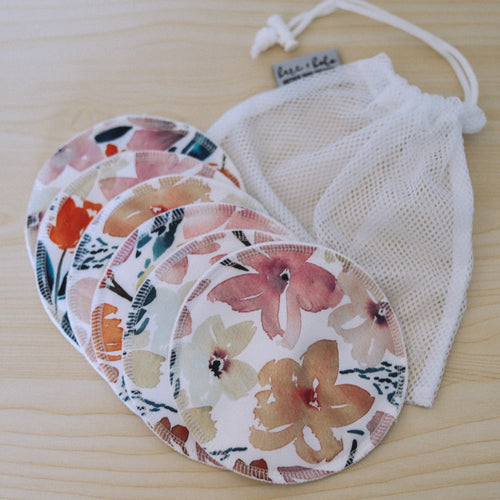 Bare and Boho Organic Cotton Cloth Breastpads