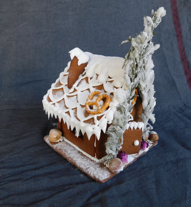 Austro Bakery's Gingerbread House Side View