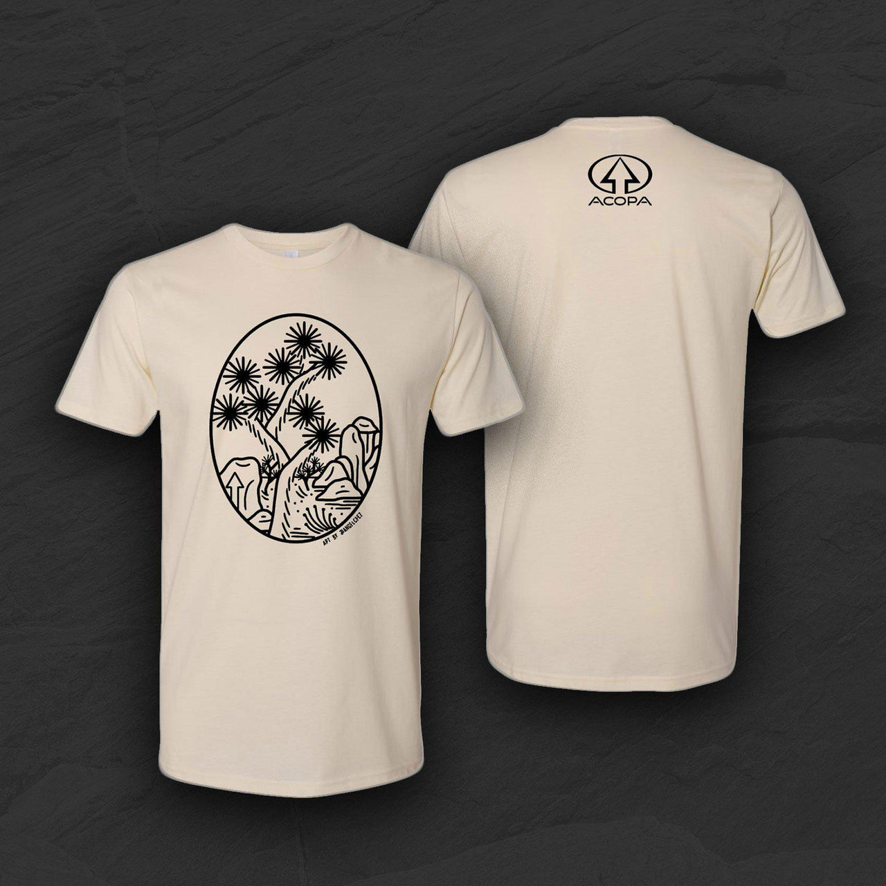 """Joshua Tree Rising"" Limited Edition Commemorative T-Shirt"