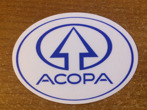 Oval Acopa Sticker