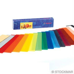 Stockmar Decorating Wax Sheets 18 Colours 4x20cm
