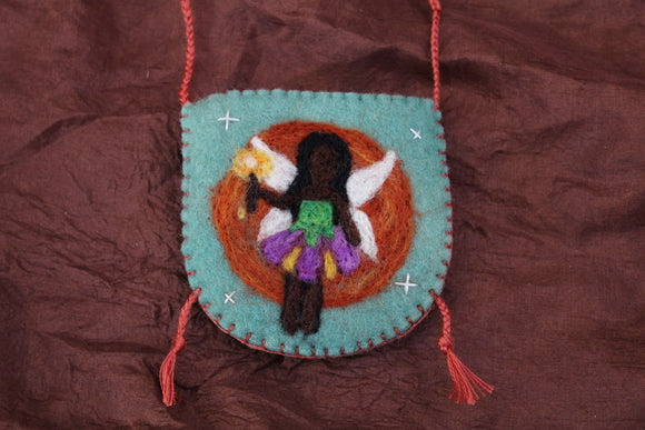 Faerie Angel Pouch Necklace