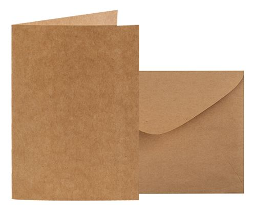 Kraft Card & Envelope