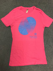 55th AAFF Festival Ladies Tee - Pink **Limited Quantity**