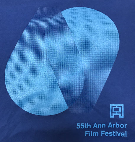 55th AAFF Festival Tee - Blue