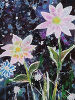 Wildflower Frost Art Print