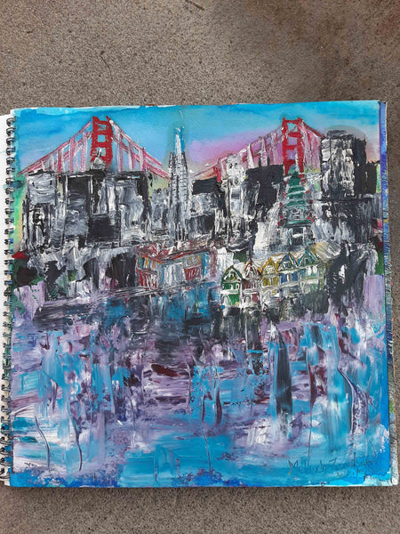 San Francisco Original Painting