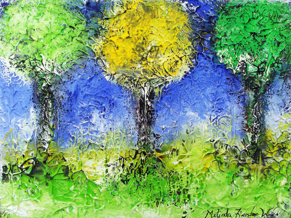 Thriving Trees Art Print