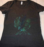 Phoenix Blue Green Black Triblend T-Shirt