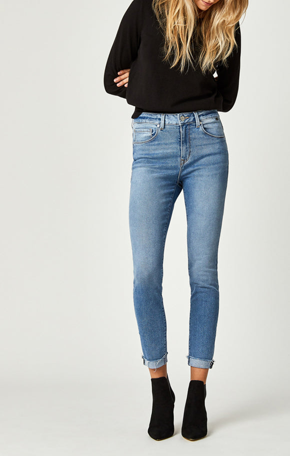 Mavi Tess Cut Off Denim Pants