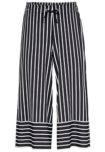 Tribal Gabby Striped Capri