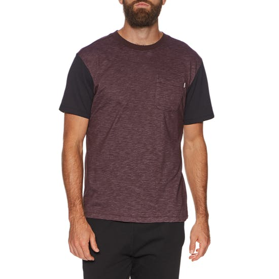 Hurley Men's Short Sleeve Dry-FIT Bridge T-shirt (Mahogany)