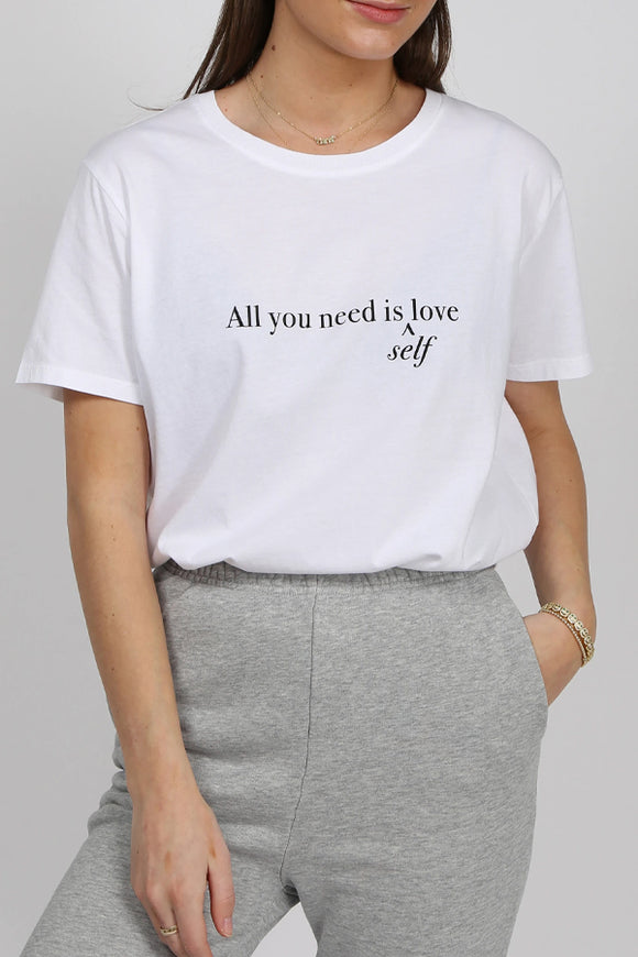 "Brunette The Label ""All you need is Love"" T-shirt"