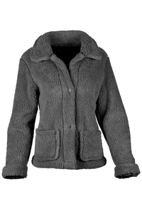BB Collection Sherpa Front Pocket Jacket