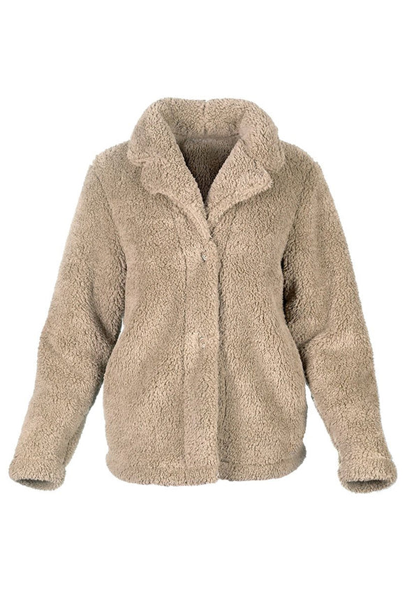 BB Collection Sherpa Side Pocket Jacket