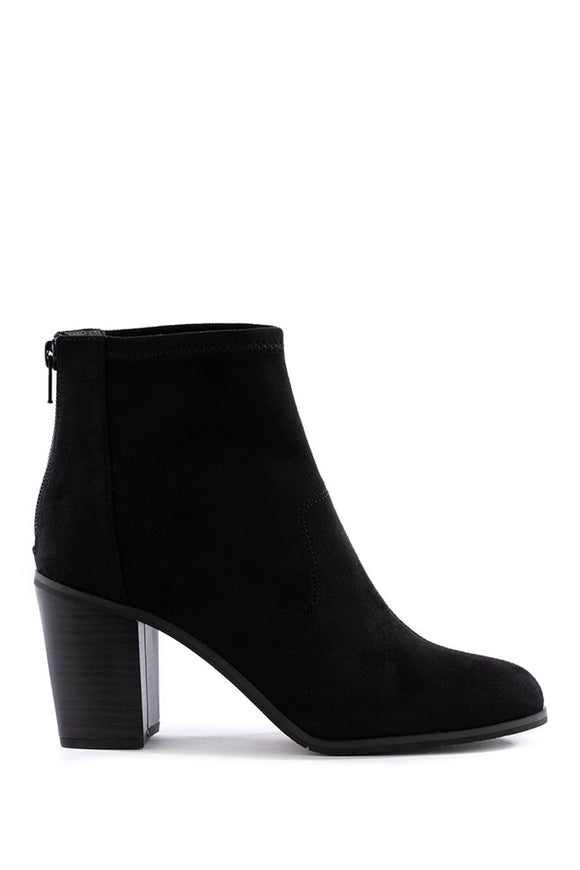 Seychelles Ringmaster Boot in Black Suede
