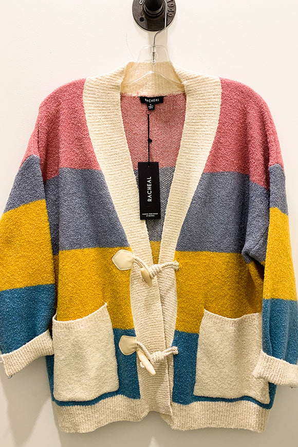 BK Brand Striped Cardigan